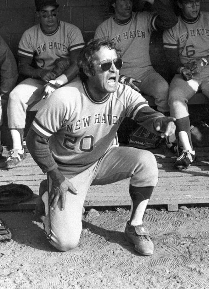 "Frank ""Porky"" Vieira started the University of New Haven baseball program and guided it to unimagined success. (Photo courtesy of New Haven Athletics)"
