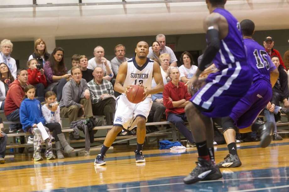 Southern Connecticut State's Greg Langston. (Photo courtesy of Southern Connecticut State Athletics)