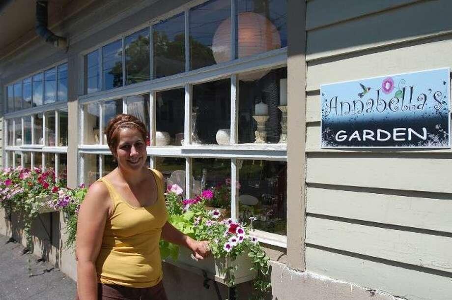 Photo by Johnny Burnham Melissa Daversa recently opened Annabella's Garden at 26 Center Street.