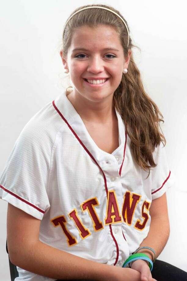 FEMALE ATHLETE OF THE WEEK: Katie Gill, Sheehan softball. vm Williams/Register