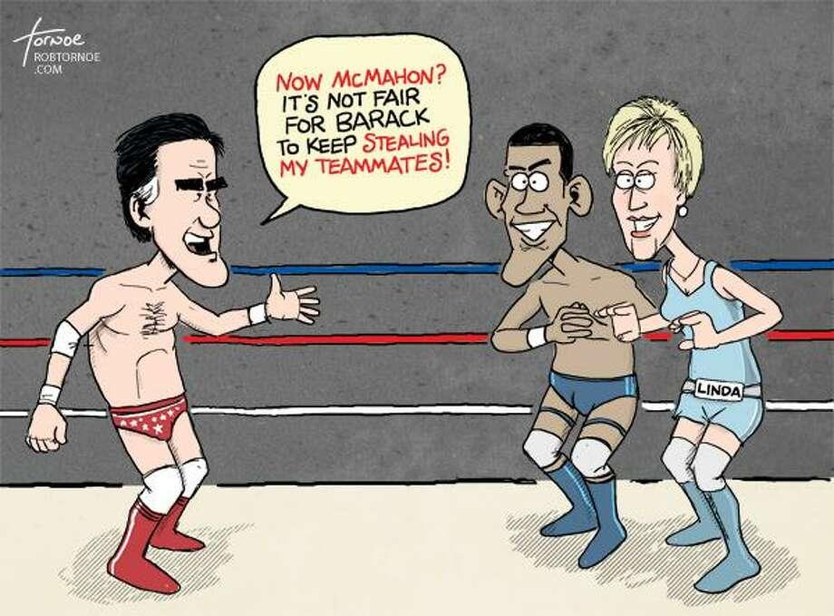 Cartoon by Rob Tornoe