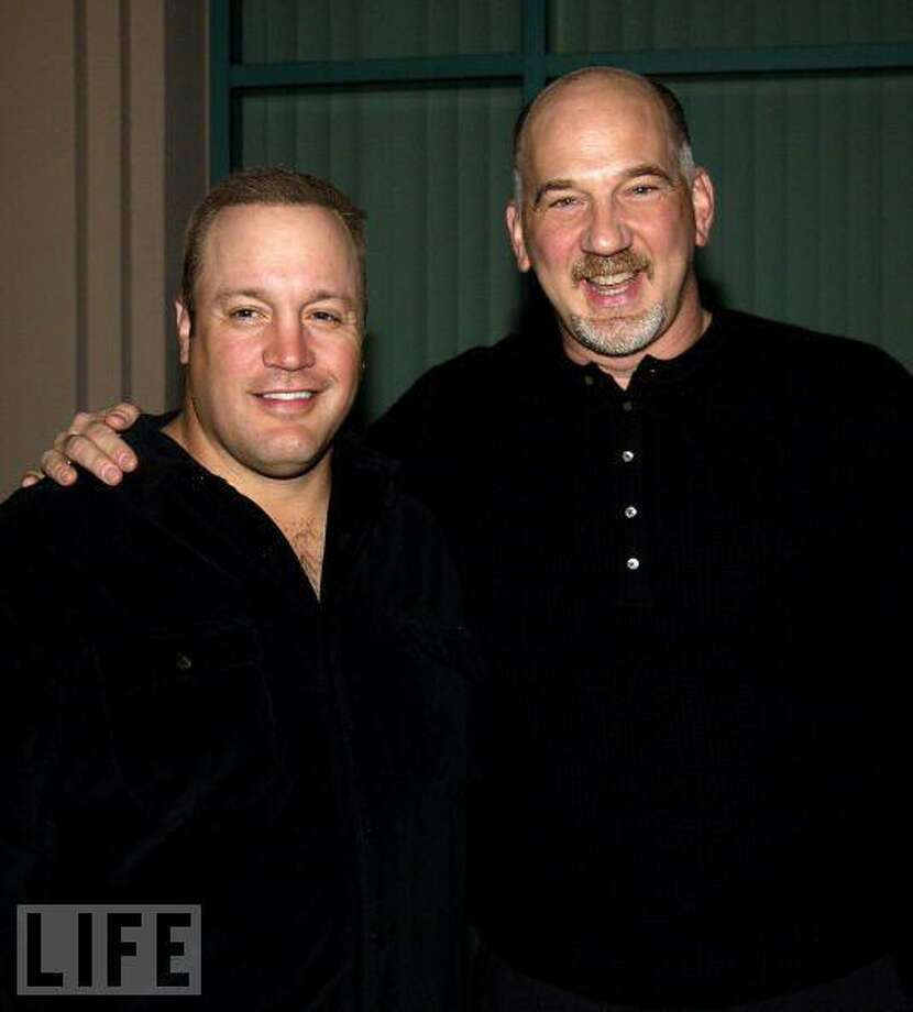 Submitted photo Kevin James and Rob Schiller.