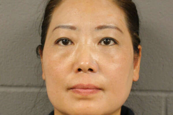 Ping G Du was arrested and charged with Class B misdemeanor prostitution after a July 24, 2017 undercover sting at LL Spa, 11045 Huffmeister Road.