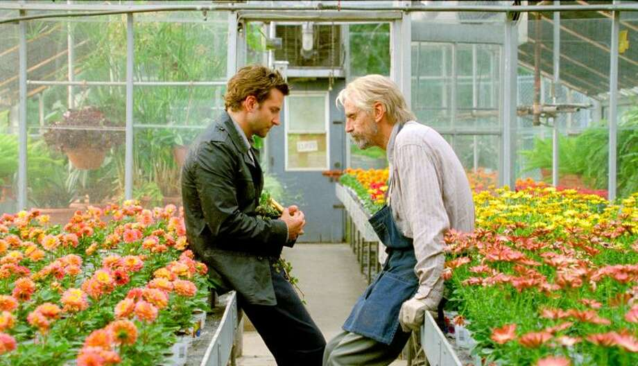 "CBS Films photo: The scenes with Bradley Cooper, left, and Jeremy Irons are the best in the film ""The Words."""