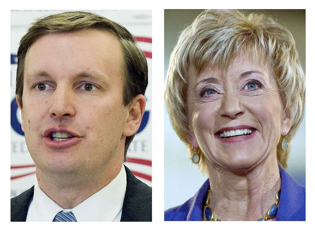 Chris Murphy and Linda McMahon face off for Connecticut's open U.S. Senate seat on Tuesday.