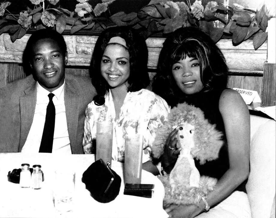 Betty Harris, right, back in the day -- posing with Sam Cooke and Tammi Terrell at The Palms Cafe in New York City in 1964. Photo courtesy of Betty Harris.