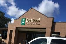 Beaumont police investigate reports of a robbery at DuGood Federal Credit Union on Eastex Freeway in Beaumont July 27, 2017.