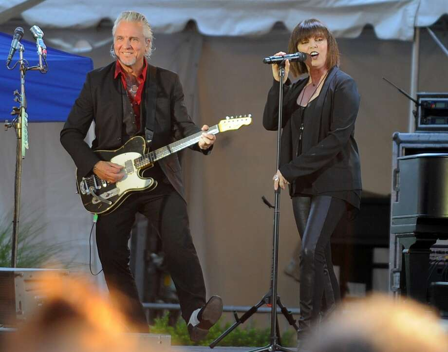 Pat Benatar and Neil Giraldo will be at Ector County Coliseum Tuesday at 8:30 p.m. Photo: Matthew Brown/Hearst Connecticut Media