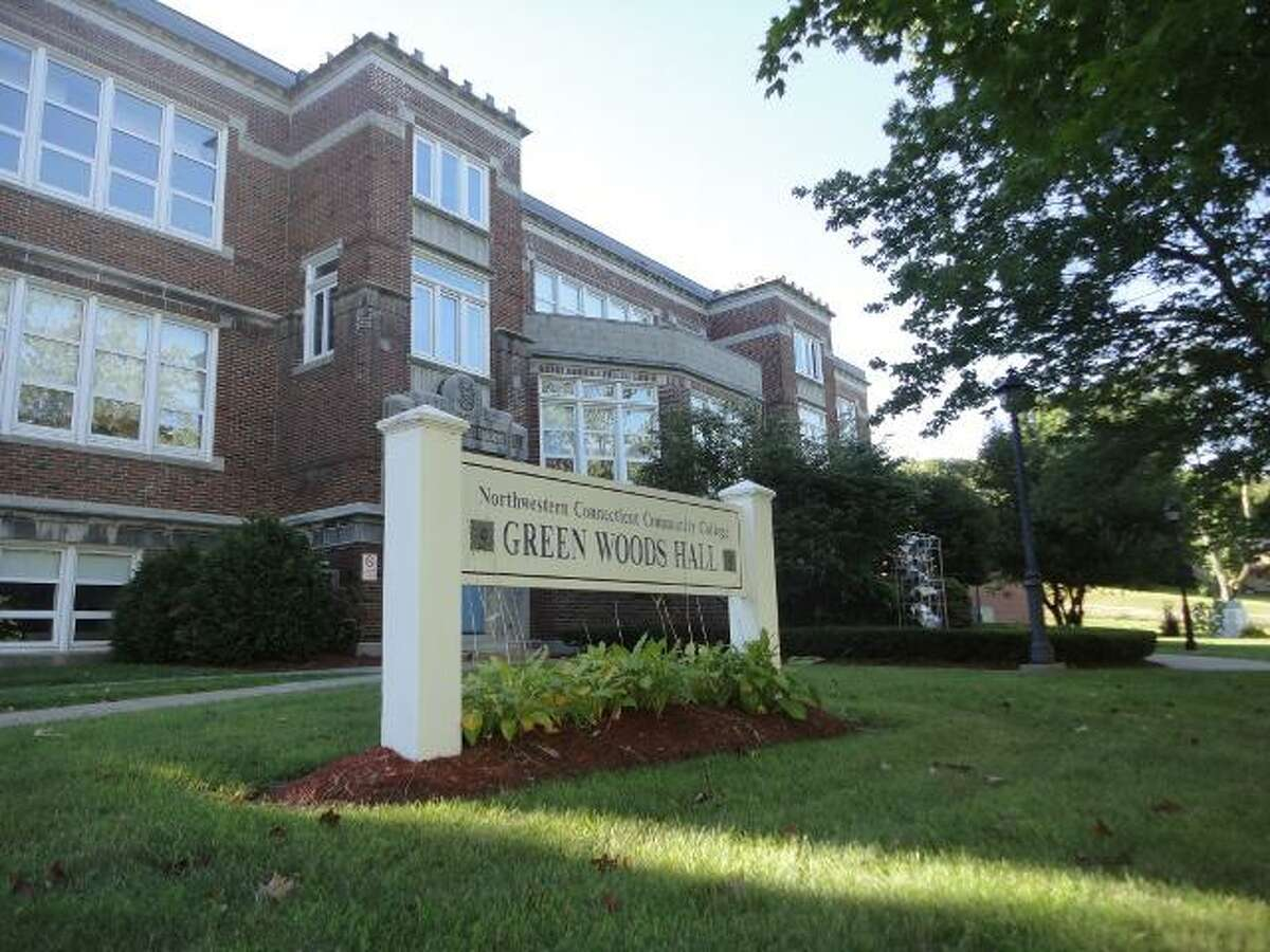 JASON SIEDZIK/ Register Citizen Green Woods Hall, which houses offices and classrooms for Northwestern Connecticut Community College, is in line to receive $1.06 million from the state bond commission for repairs. To purchase a glossy photo of this picture, visit registercitizen.com.