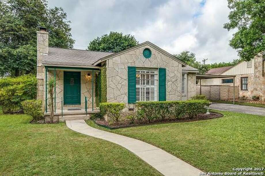 1. 160 E. Elmview Place, Alamo Heights: $389,900Alamo Heights ISDBeds: 2Baths: 2Year built: 1941 Photo: Courtesy, Lynn Boyd Via MySA.com