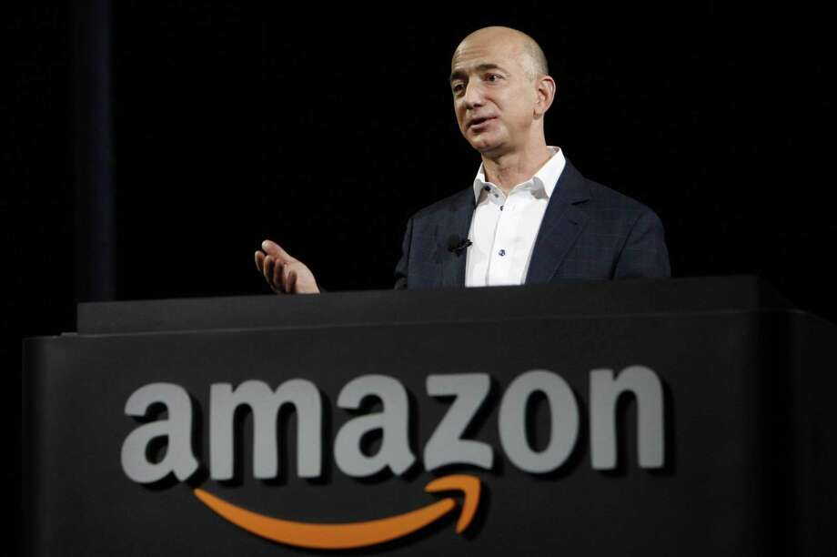 Jeff Bezos, 53, owns about 17 percent of Seattle-based Amazon, which has surged 39 percent this year, helping to add $23.9 billion to his net worth. Photo: Al Seib /os Angeles Times / Los Angeles Times