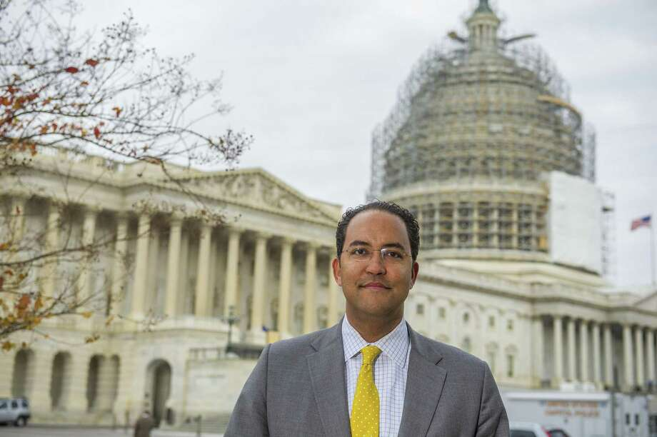 """FILE PHOTO — U.S. Rep. Will Hurd, R-San Antonio, and several other border congressmen are proposing a new border wall plan which they are calling the """"Secure Miles with All Resources and Technology Act,"""" or SMART Act. Click through to see some of the renderings proposed for President Trump's border plan. Photo: Rod Lamkey Jr. /For The Chronicle / © 2014 Houston Chronicle"""