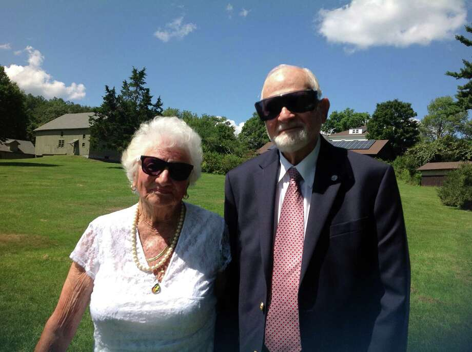 Richard and Ruth-Ann Herman, of Milford will be married 71 years Tuesday.