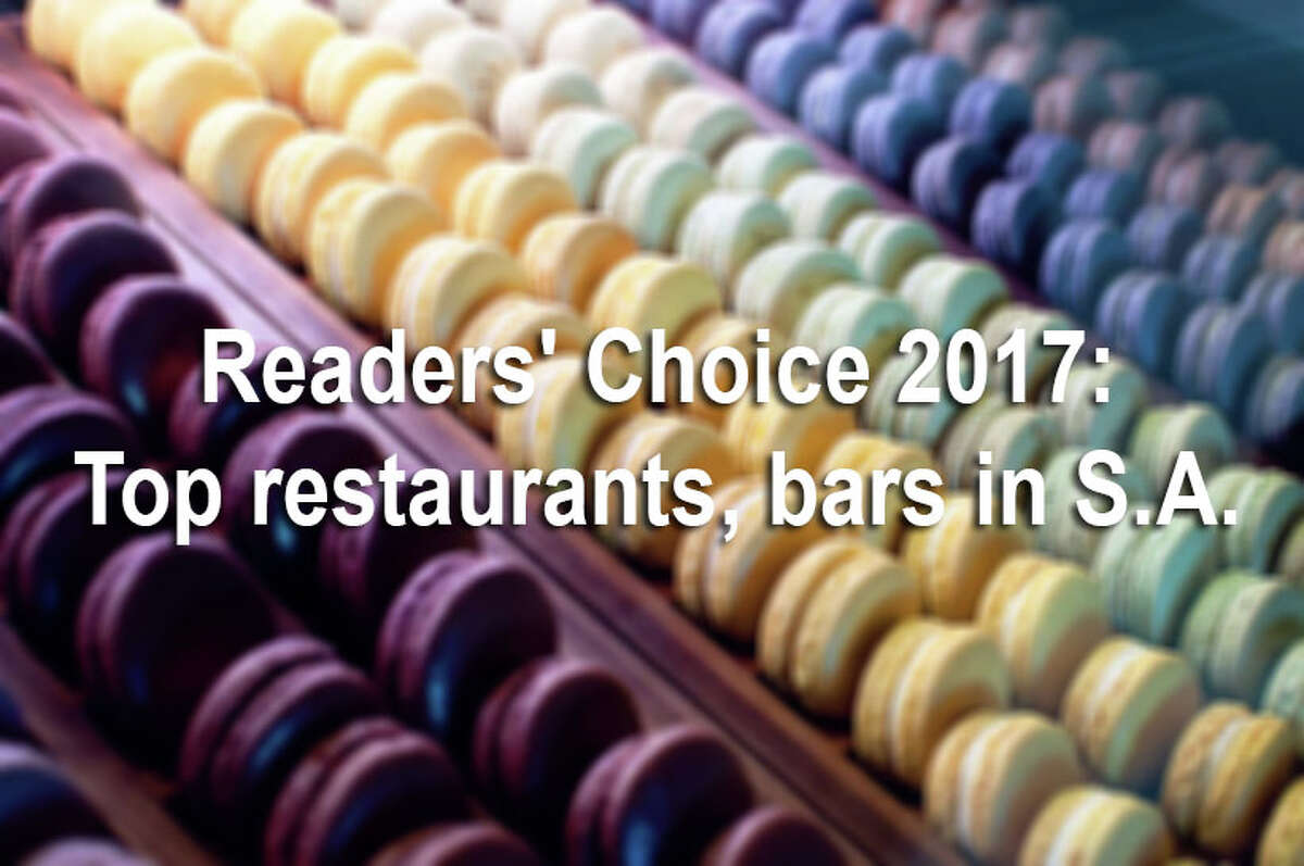 Express-News readers voted to choose their favorite restaurants and bars in 2017. Categories range from best place to grab a beer and best special occasion restaurant, to more specific categories like best chicken-fried steak and best tacos.Click through the gallery to see the restaurants and bars readers loved the most this year.