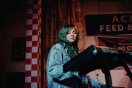 Valeria Pinchuk of Houston band Birthday Club.