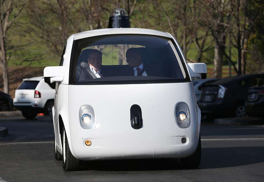 Self-driving cars are not quite ready yet – and we're not either – but it won't be long. Photo: Justin Sullivan / Getty Images