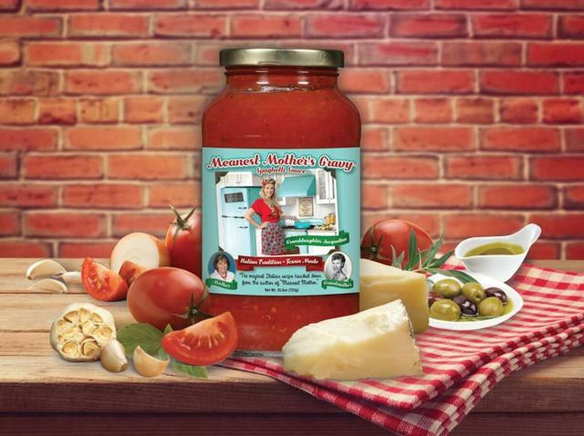 """Meanest Mothers Gravy, Spring Branch: Jacqueline Scalf's tomato sauce is named in honor of her grandmother, Bobbie Jo Pingaro, author of """"The Meanest Mother."""" MeanestMothersGravy.com"""