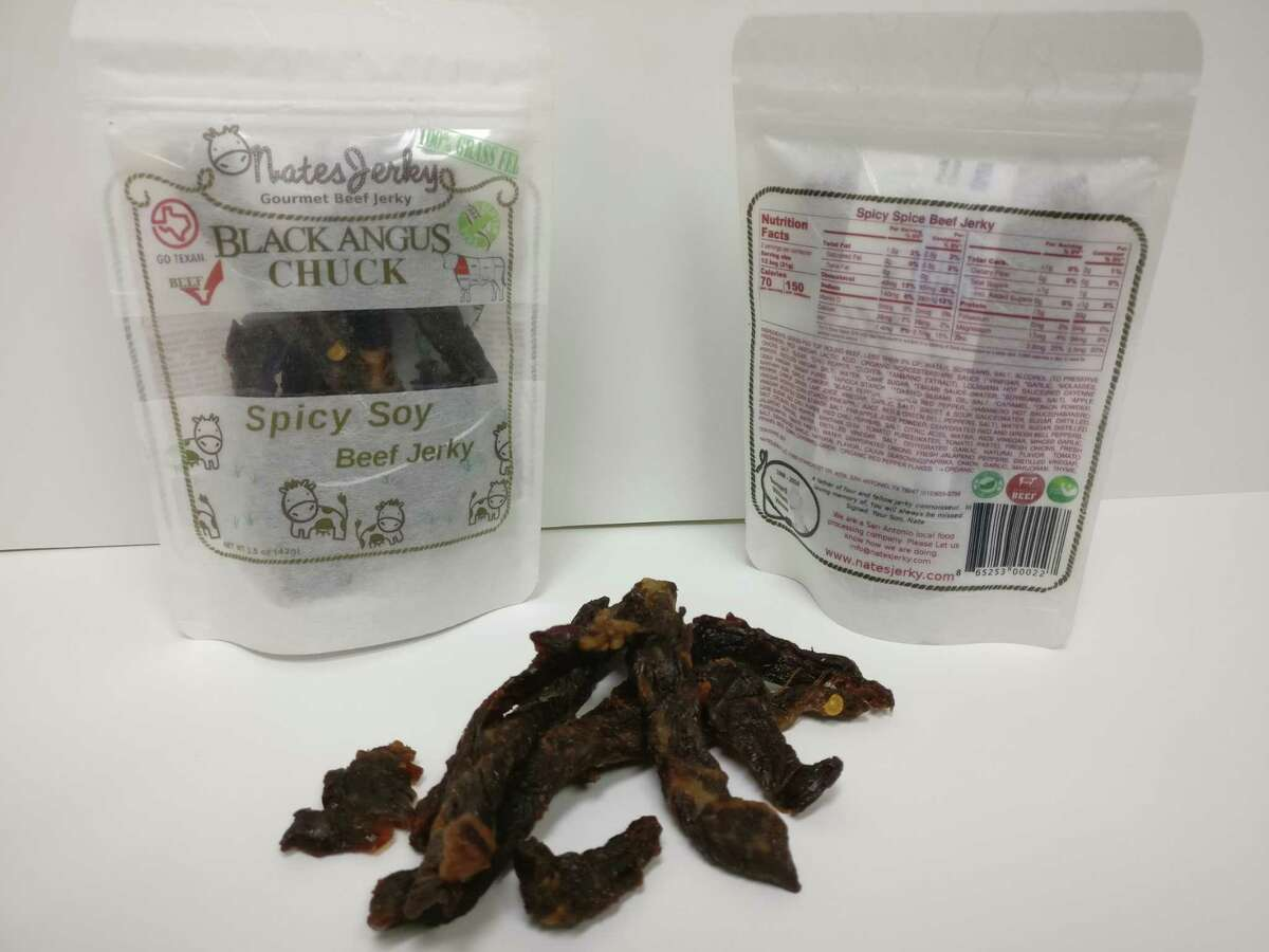 NatesJerky, San Antonio: Nate and Eileen House transformed a family jerky recipe into a business that now produces several flavors. NatesJerky.com