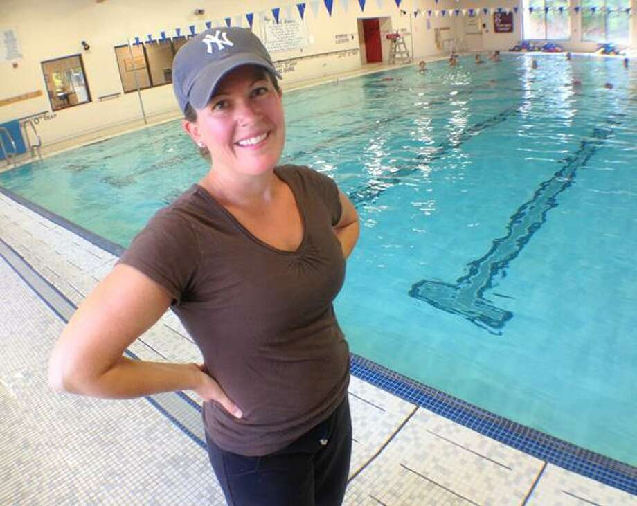 "Dispatch Staff Photo by JOHN HAEGER <a href=""http://twitter.com/oneidaphoto"">twitter.com/oneidaphoto</a> YMCA Sensory Swim Instructor Lisa Hanifin-Gaudet"