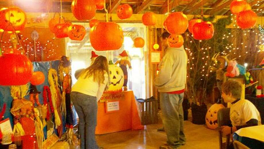 Photo Courtesy THE GREAT SWAMP CONSERVANCY Children and adults have fun at the Great Swamp's annual Halloween fun days on Sunday. The event continues this Sunday from 11 a.m. to 4 p.m.