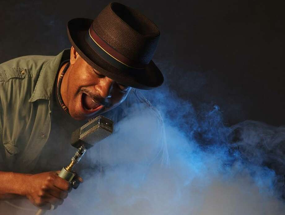 Contributed photo: Guy Davis, bluesman and son of Ruby Dee and the late Ossie Davis, brings his High Flying Rockets to The Kate.