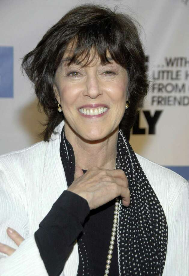 "FILE - In this Dec. 2, 2008 file photo, director Nora Ephron poses on the press line at ""One Night Only...With a Little Help From Our Friends"" benefiting UCLA School of Theater, Film and Television at Royce Hall in Los Angeles. Publisher Alfred A. Knopf confirmed Tuesday, June 26, 2012, that author and filmmaker Nora Ephron died Tuesday of leukemia. (AP Photo/Dan Steinberg, file) Photo: AP / AP2008"