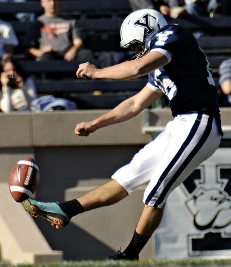 Yale kicker Philippe Panico (Courtesy of Yale Athletics)