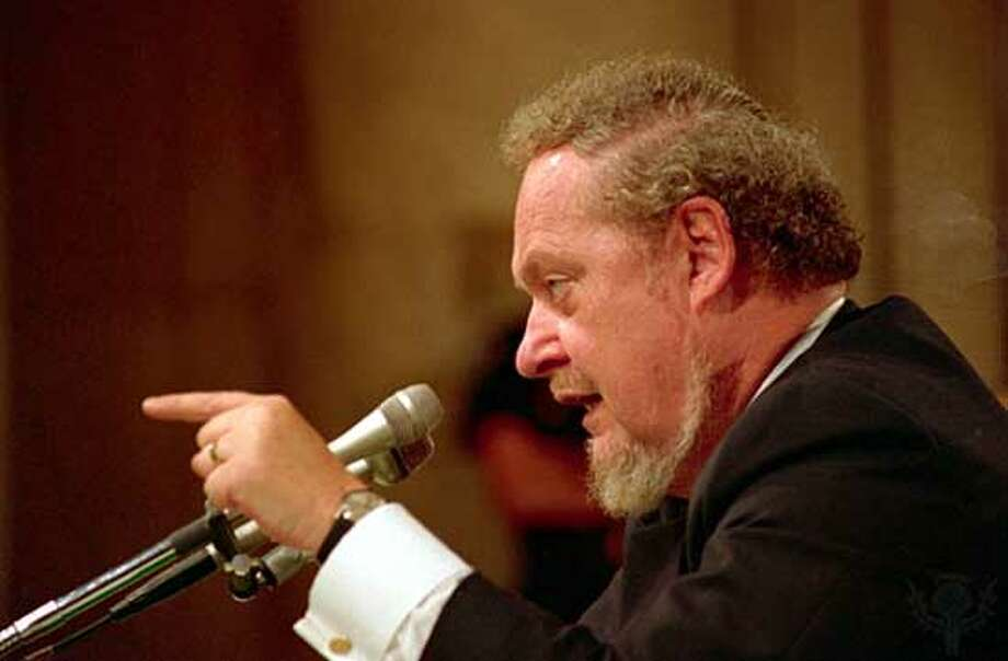 Robert Bork fired the Watergate prosecutor on orders of President Richard Nixon and then failed in a bid of the U.S. Supreme Court, has died at 85.