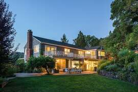 502 Miner Road in Orinda is a Hamptonesque estate home available for $3.225 million.