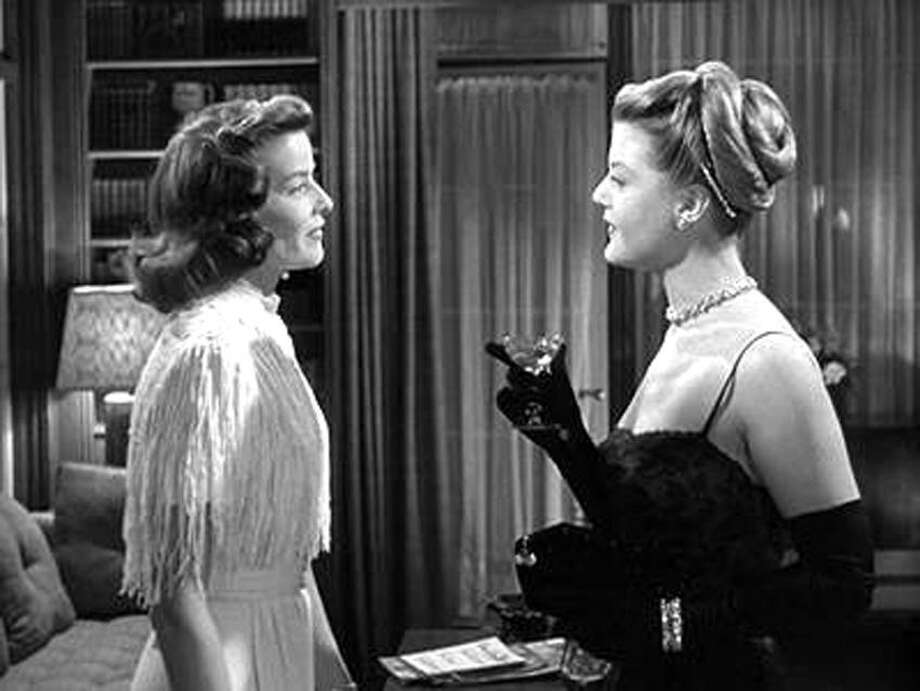 "Contributed photo: Katharine Hepburn and Angela Lansbury in a scene from ""State of the Union,"" the inaugural film of the Coquetiers du Cinema series at The Borse on Chapel Street in New Haven."