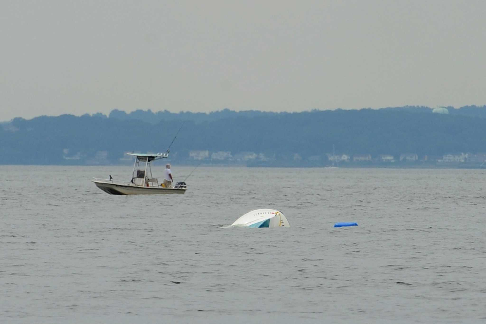 Four fishermen rescued off shippan point in stamford for Party boat fishing ct