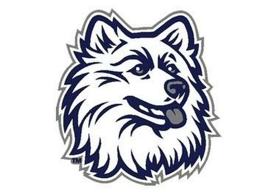 The University of Connecticut Husky logo.