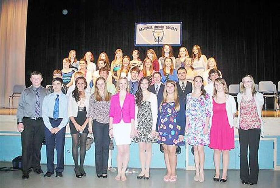 Photo Courtesy ONEIDA HIGH SCHOOL Members of the Oneida High School National Honor Society.