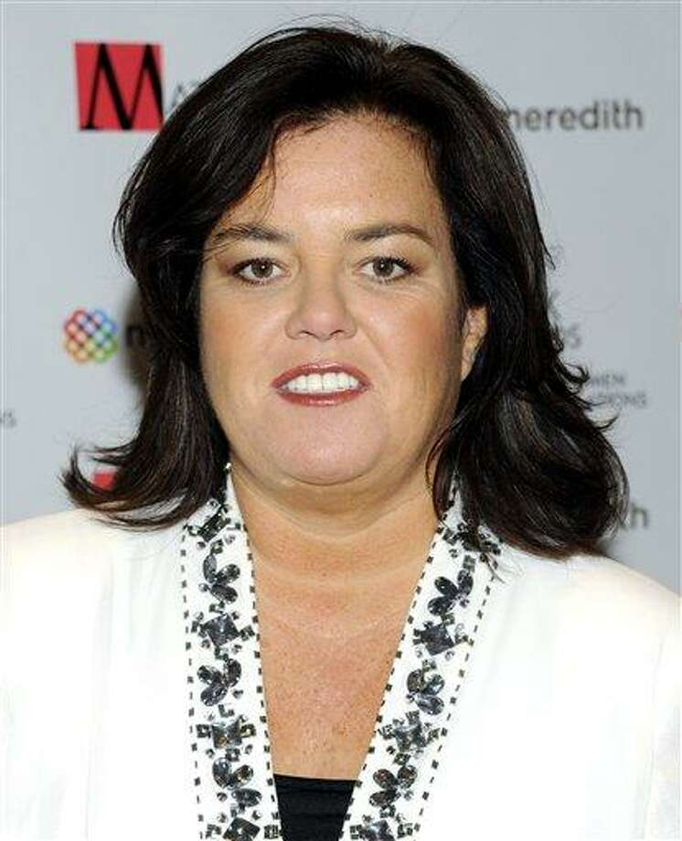"In this April 11, 2011 file photo, television personality Rosie O'Donnell attends the New York Women in Communications' 2011 Matrix Awards in New York. O'Donnell said on her blog, Monday, that she's ""lucky to be here"" after suffering a heart attack last week. Photo: ASSOCIATED PRESS / A2011"