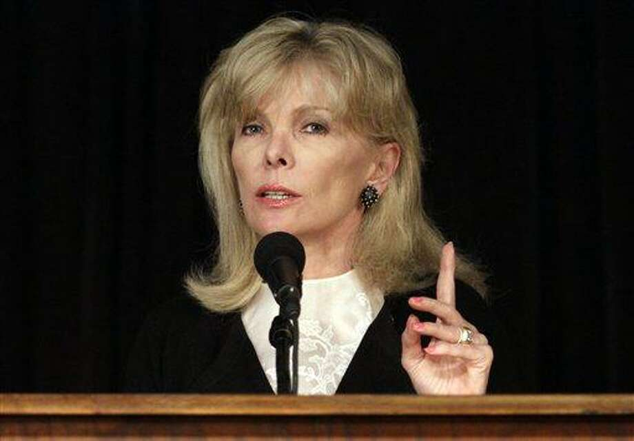 AP Photo Darla Moore speaks to students at the University of South Carolina, in Columbia, S.C. in 2011. For the first time in it's 80-year history, Augusta National Golf Club has female members. The home of the Masters, under increasing criticism the last decade because of its all-male membership, invited former Secretary of State Condoleeza Rice and South Carolina financier Moore to become the first women in green jackets when the club opens for a new season in October.  (AP Photo/Brett Flashnick) Photo: AP / FR119234 AP