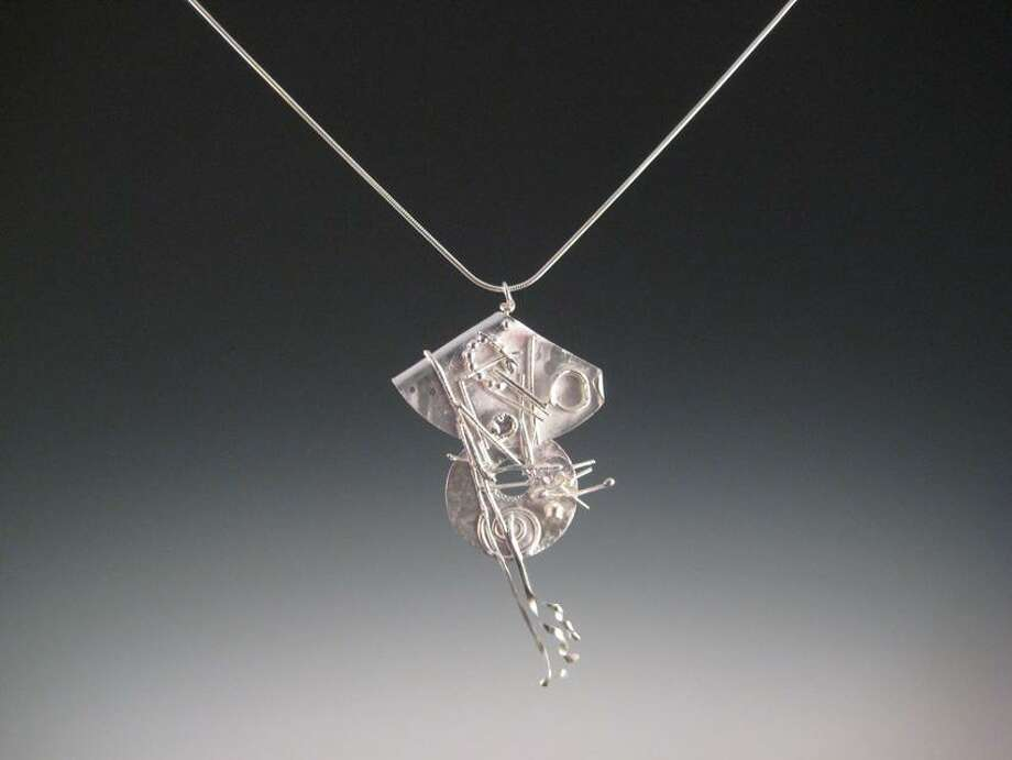 Photo courtesy of the artist: Kristin Merrill sterling necklace.