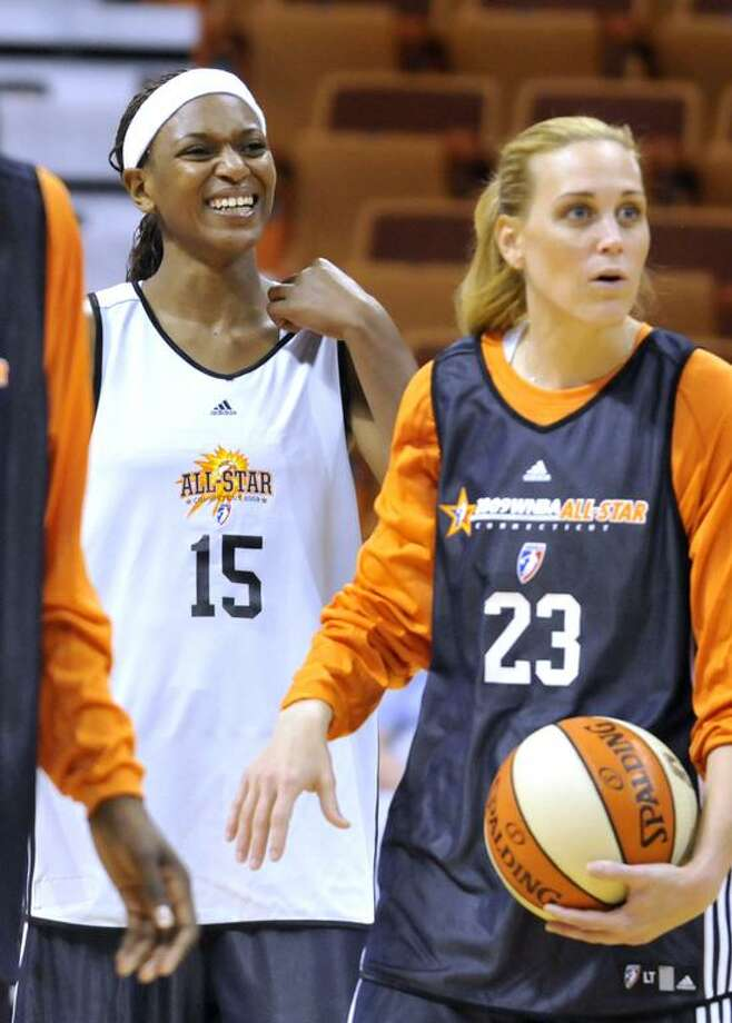 Connecticut Sun's Ashja Jones (15) was named to the U.S. women's basketball Olympic team on Monday.(AP file photo/Jessica Hill) Photo: ASSOCIATED PRESS / AP2009