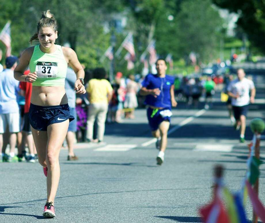 The 50th annual New Milford 8-mile and Village Fair Days 5K road races will be held this year. Photo: Trish Haldin / Trish Haldin / The News-Times Freelance