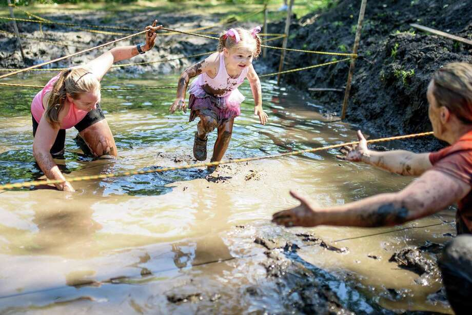 Individuals of all ages took part in the annual Hog Wild Hustle at Harrybrooke Park in New Milford. Photo: Contributed Photo / Contributed Photo / The News-Times Contributed