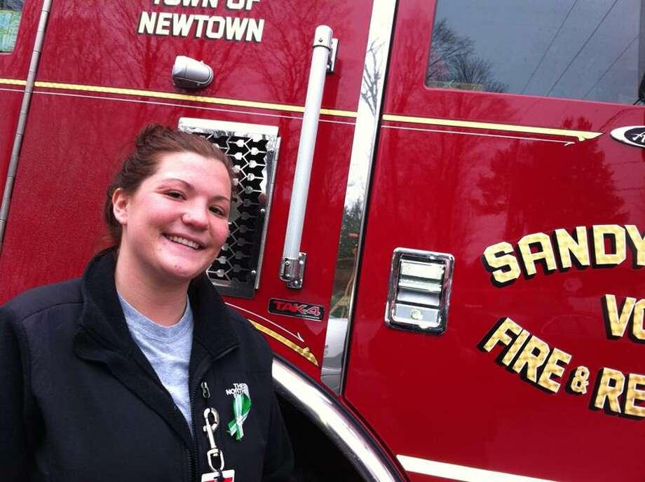 Sandy Hook firefighter Kelly Burton. Photo by Mark Zaretsky/New Haven Register