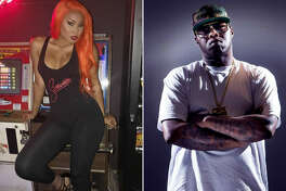 Houston rappers Just Brittany and Z-Ro were dating, but she recently told police that her ex-boyfriend assaulted her for hours. Photos:  Instagram