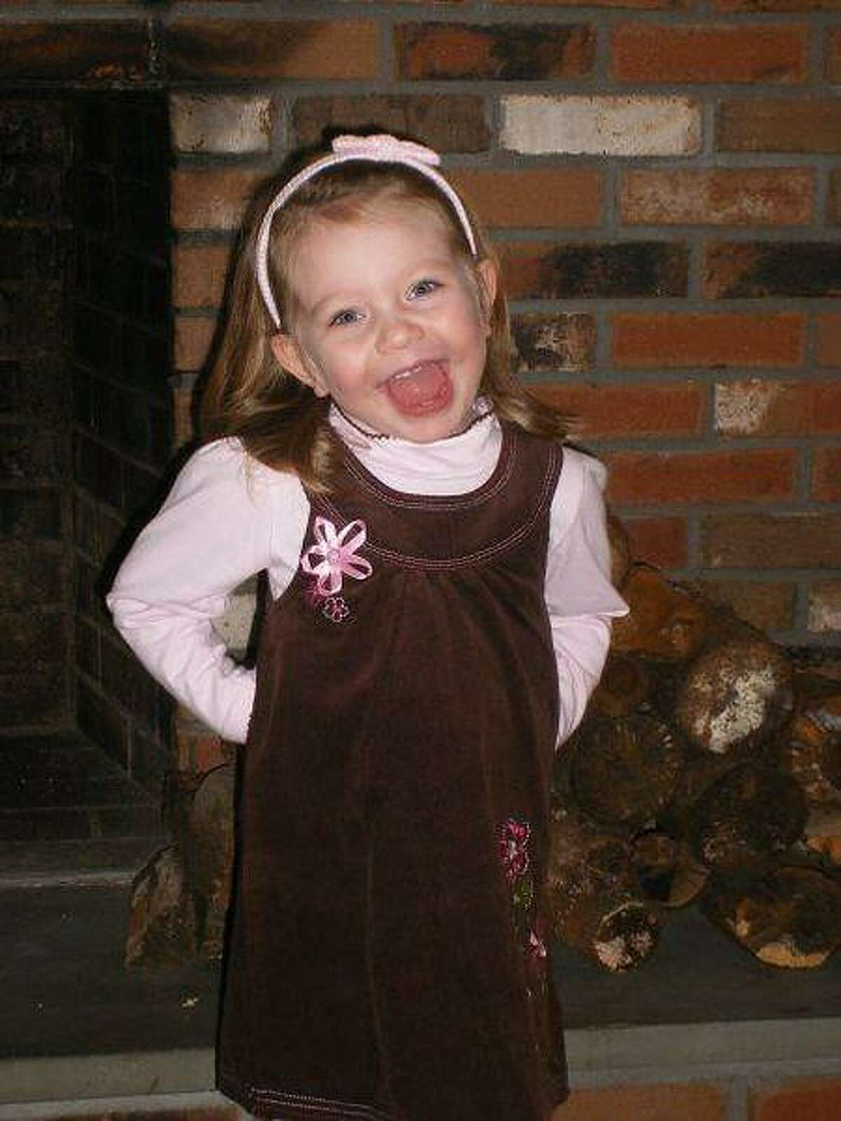 Olivia Engel was to be an angel in a nativity play Facebook photo