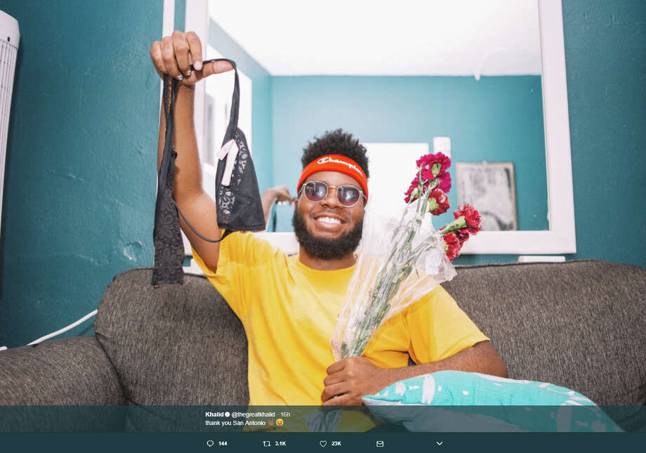 Khalid's concert at the Aztec Theater on Wednesday proves a worthy investment of time and money for both the fan and the artist. Photo: Twitter.com/thegreatkhalid