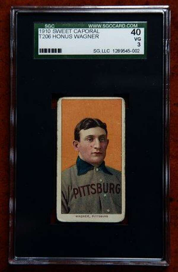 Rare Baseball Card Sells For 12m At Auction New Haven