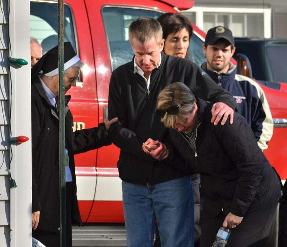Sandy Hook Elementary School shooting in Newtown CT December 14, 2012