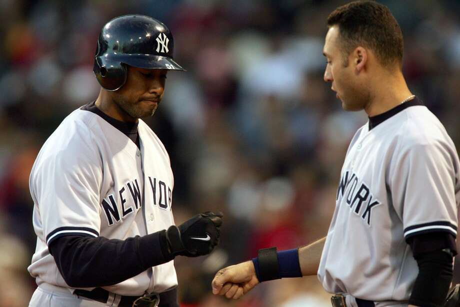 ALL-TIME BEST DUOS IN BASEBALL30. Derek Jeter/Bernie Williams, 1996-2004 New York YankeesCumulative WAR: 82 (29th)Average annual WAR: 9.111 (26th) Photo: Ezra Shaw/Getty Images