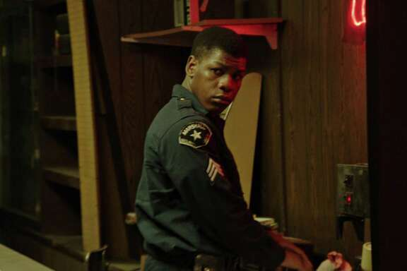 John Boyega portrays real-life security guard Melvin Dismukes in 'Detroit.""