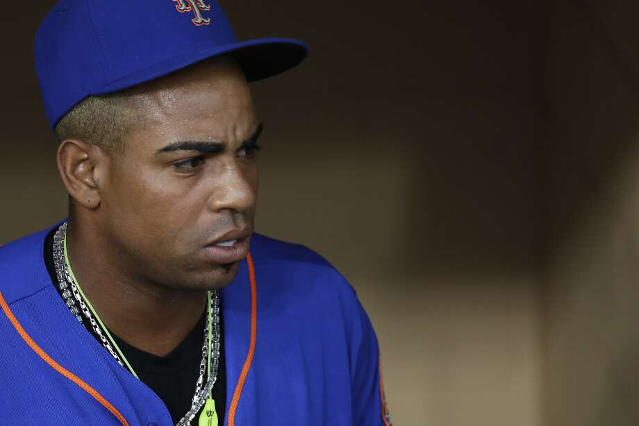 New York Mets left fielder Yoenis Céspedes wants to return to the A's. Photo: Gregory Bull, Associated Press