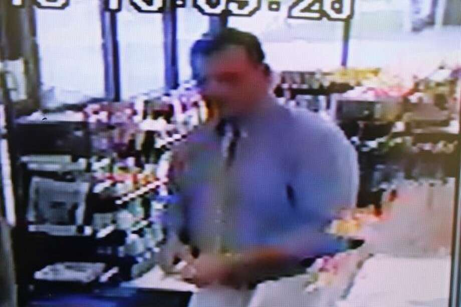 Man sought for questioning in apparent gun discharge incident.