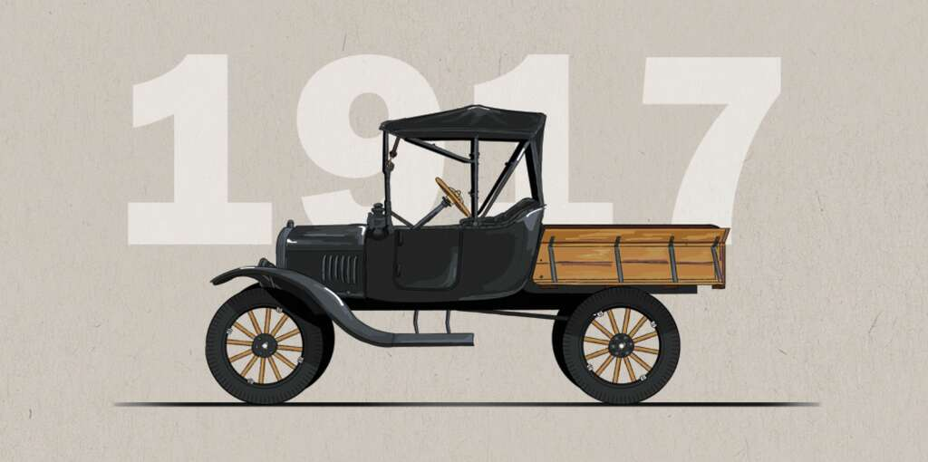 Ten decades of trucks: Ford celebrates 100 years of pickup history ...